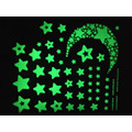 Wall stickers for kids rooms fluorescent glow in the dark stars wall sticker DIY poster home decor