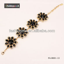Fashioneme infini bracelet cercle gros diamant série