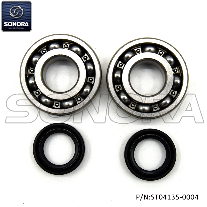 Peugeot horizontal Crank Sharf Bearing Set Incl. Oil Seals