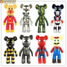 2016 Venta Caliente Encantadora Pequeñas Figuras de Juguetes de Plástico