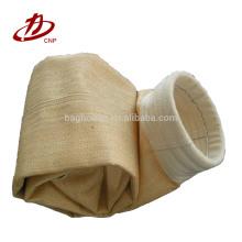 Bolso de filtro del colector de polvo de la aramida del poliéster de Baghouse