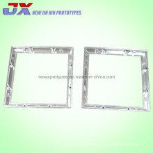 Pièces en aluminium adaptées aux besoins du client de usinage de commande numérique par ordinateur d'acier en métal de précision