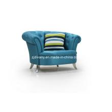 Post-Modern Sofa à la maison en bois tissu canapés-lit (LS-107 a-A)