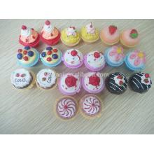 Großhandel süße Cupcake Lipbalm Moisturizing Lip Makeup Kosmetik