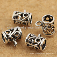 Wholesale cheap sterling silver making opening Hollow style pendant charms SEF019