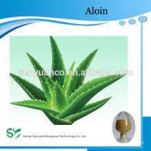 Aloe Vera Extracto de Folha Pó Liofilizado 100: 1 200: 1 Aloína 10% 20% 30%