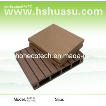 Piso de polietileno de alta densidad de madera