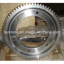 Caixa de engrenagens e roda helicoidal com diferentes tamanhos na China