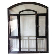 Extrusions de fenêtre en aluminium isolées bon marché contre les intempéries