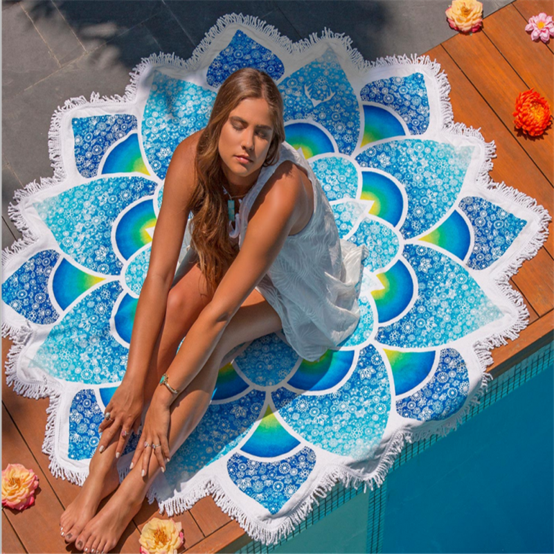 Round Beach Towel Cheap