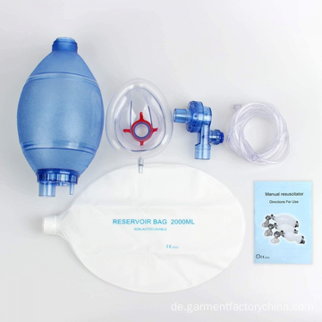 PVC Pediatric Neonatal Resuscitator Ambu Bag