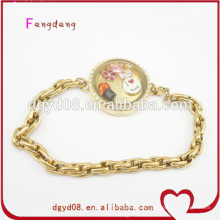 Mode vente chaude amour bracelet en acier inoxydable bijoux