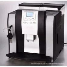 Pantalla LCD Cappuccino Máquina de café totalmente automática