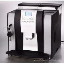 Machine à café complètement automatique de Cappuccino d'affichage à cristaux liquides