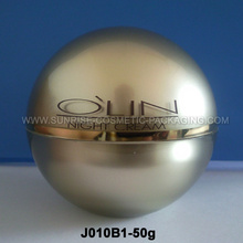 50g Ball Shape Acrylic Cream Pot