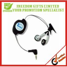 Neues Design Werbe Retractable Kopfhörer