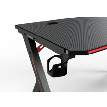 Ergonomic Gaming Desk Rgb Led Light E-Sports Computer