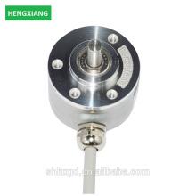 Codificador rotativo incremental utilizado en sensores codificador óptico