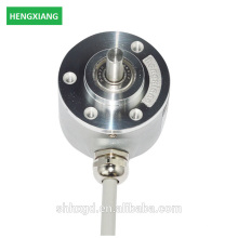 Codificador rotativo incremental usado no sensor de codificador óptico