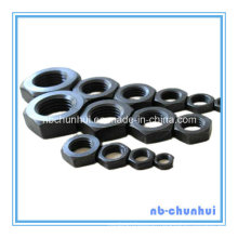 Hex Thin Nut Black 45#