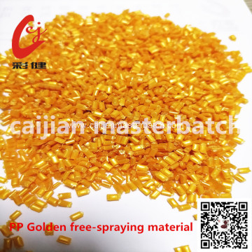 PP Golden free-spraying material