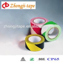 Two-tone stripe non-adhesive pe warning tape