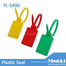 Sello de plástico ajustable para contenedores y camiones