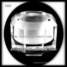 Suporte de vela de cristal popular Z020