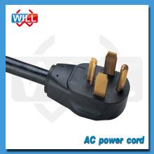 UL CUL approval 30A 125V 250V NEMA 14-30P power plug