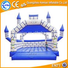 Castillo inflable divertido inflable atractivo, casas de calidad superior de la despedida para la venta