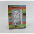 Distressed MDF papel folheado moldura para Home Deco