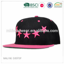 2015 hot sell good quality embroidery brand hip hop Cap/hip hop snapback cap