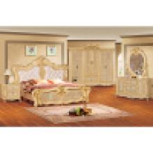 Conjunto de mobília do quarto com cama de casal (W802B)