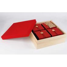 Подарочная коробка для бумаги высокого качества, подарочная коробка для упаковки чая