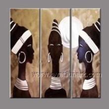100% ручная роспись африканской живописи маслом