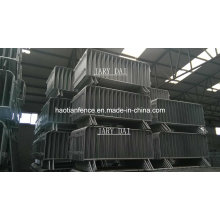 Hot Dipped Galvanized Traffic Barricade Panel