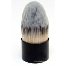 Nylon Hair and Metal Hand Kabuki Cosmetic Makeup Brush