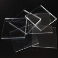 Feuilles acryliques moulées, marquage papier transparent double face