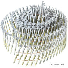 2-1/2-Inch x .092-Inch 15-Degree Collated Wire Coil Full Round Head Ring Shank Coil Nail