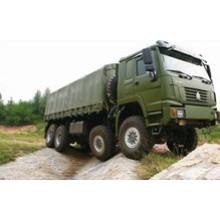 Sinotruk HOWO 8X8 todo o caminhão da carga da movimentação da roda