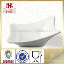 Vaisselle bon marché en céramique de porcelaine, bols turcs pour l'hôtel