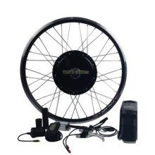 Wheel part 26'' E - bike kit 48V 1000W high power electric bike conversion kit