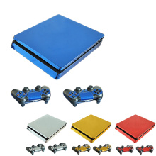 Game Machine Stickers decalques Paster Set Controller Host Handle Cover Skin para Sony PlayStation Play Station PS 4 PS4 Slim