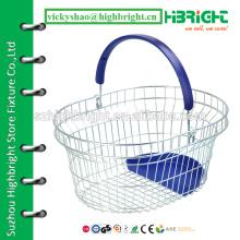 supermarket shopping basket suppliers,handmade wire basket,round wire basket