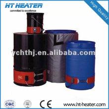 Aquecedores de barril de borracha de silicone