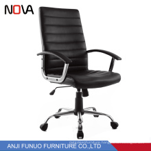 Modern office furniture swivel ripple black office Adjustable recline swivel mesh office chair with middle back