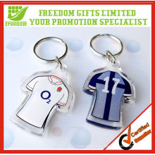 Promotion Customized Colour Printing Acrylic Keyring