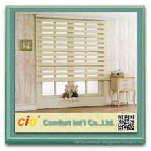 Indoor Natural Colour Blind Zebra Curtain