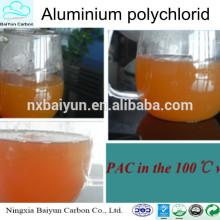 Productos químicos para el tratamiento del agua potable poli aluminio chlroide PAC