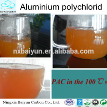 Drinking water treatment chemicals poly aluminium chlroide PAC